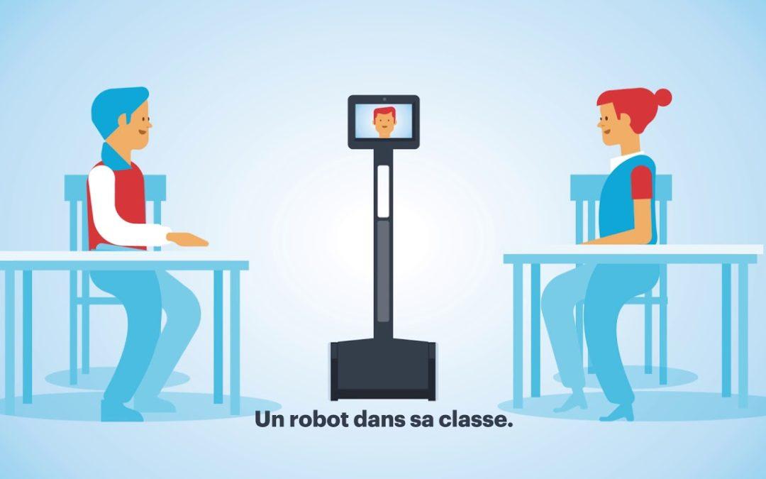 Des robots de télé présence dans les lycées