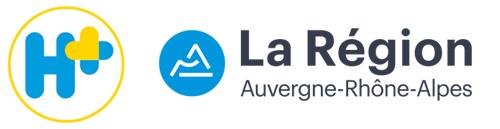 Logo H+ Région Auvergne-Rhône-Alpes